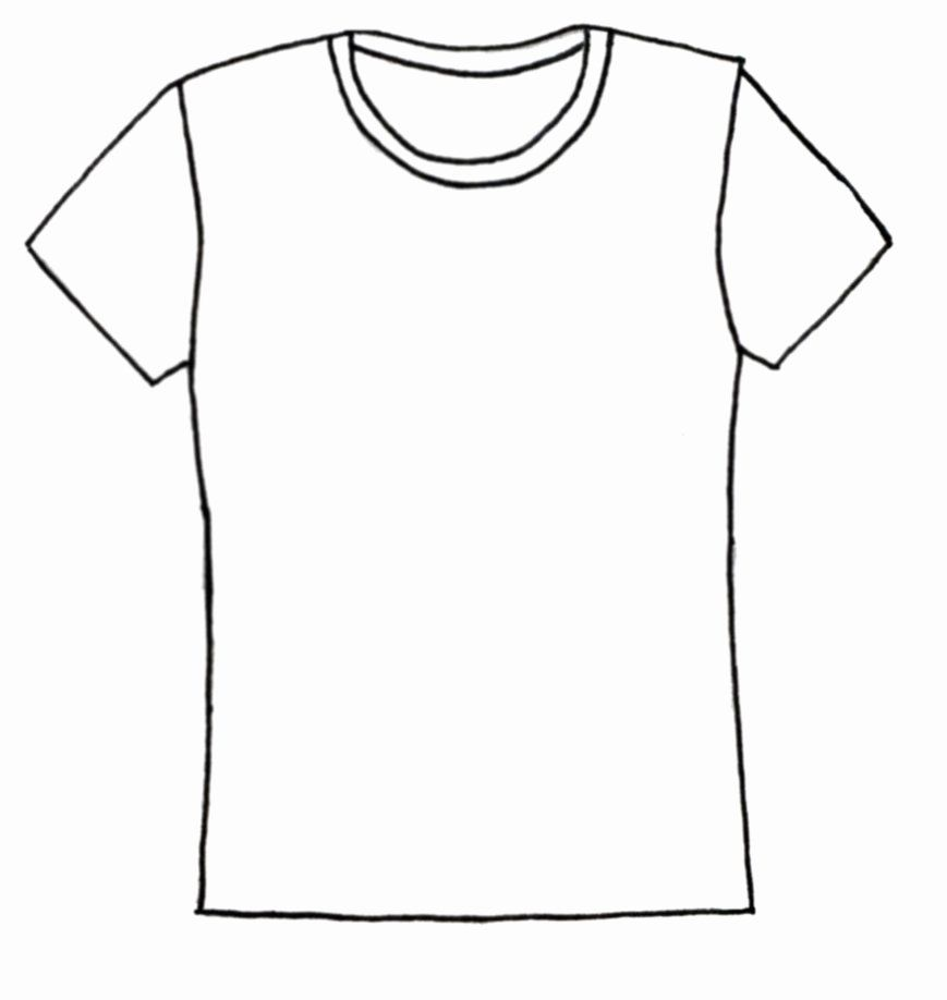 24 T Shirt Coloring Page In 2020 Shirt Drawing Shirt Clipart