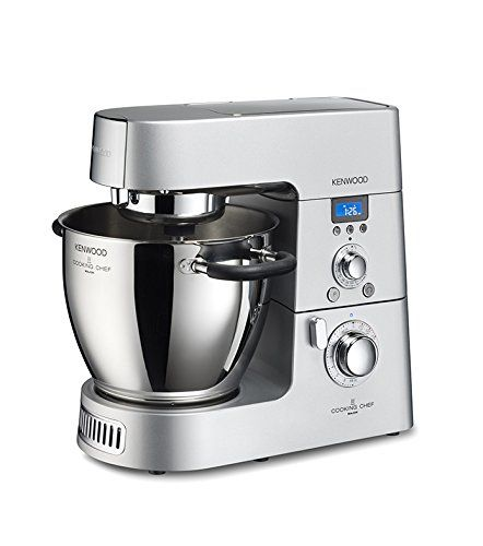 Amazon De Kenwood Km 096 Cooking Chef Multizerkleinerer 6 7 L 1500 Watt Silber Robot Da Cucina Chef Cottura Lenta