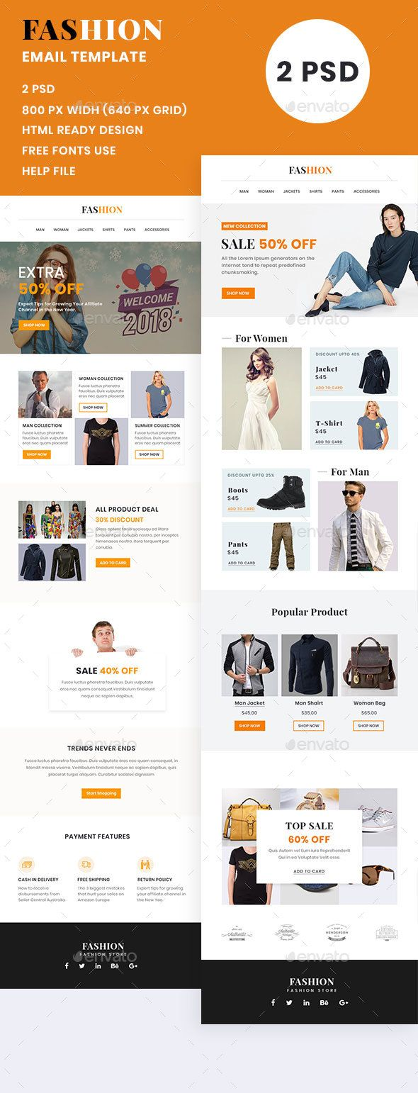 fashion email template e newsletters web elements e newsletter
