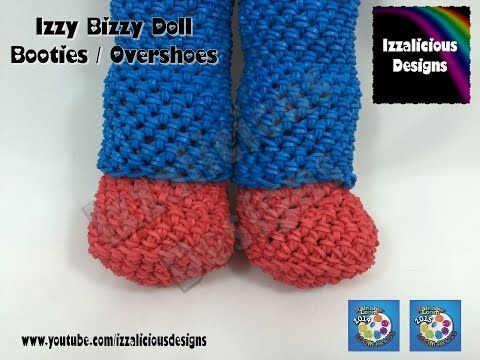 Amigurumi Loom Patterns : Loomigurumi izzy bizzy doll boot shoe covers hook only