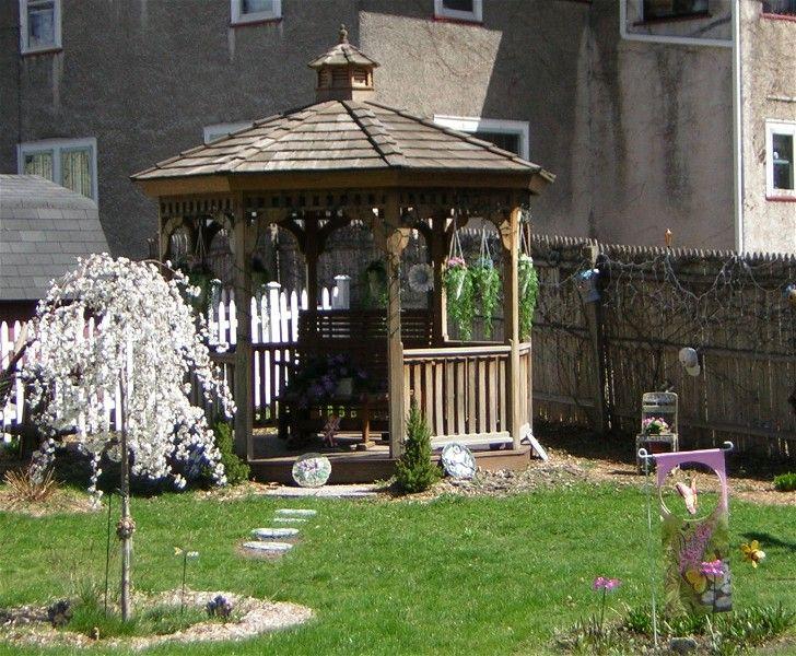 Weeping Cherry Snow Fountain Tree Backyard Garden Backyard Outdoor Structures