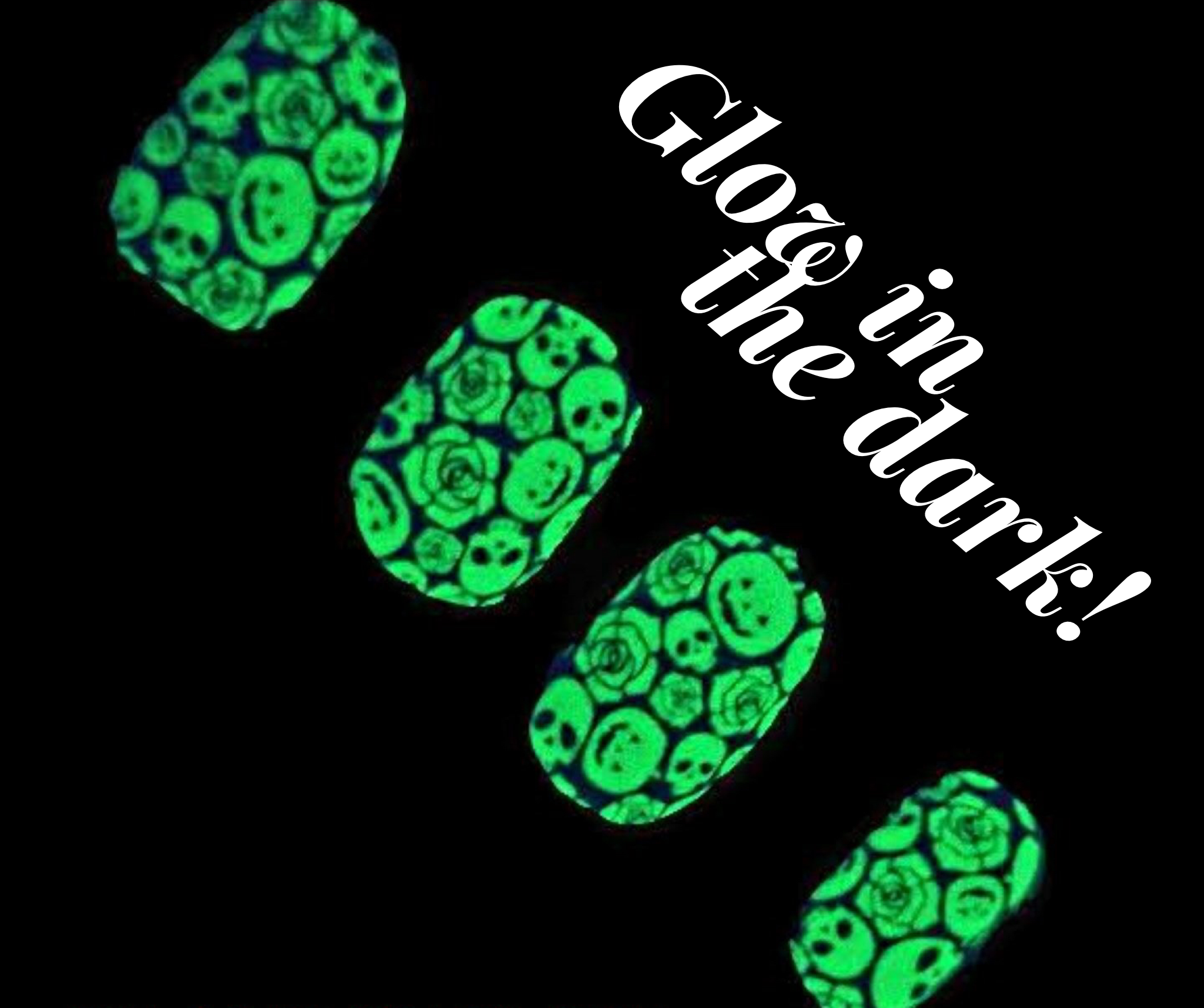 Glow in the dark Halloween nail polish strips from Color Street ...