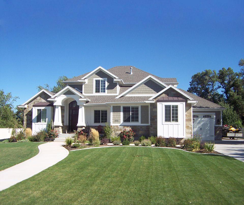 Garn Christensen Utah S Custom Home And Real Estate Expert Craftsman Style Homes Craftsman House Plans Craftsman House