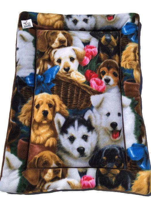 Medium Pet Bed Puppy Bedding Fleece Dog Bed Dog By Comfypetpads