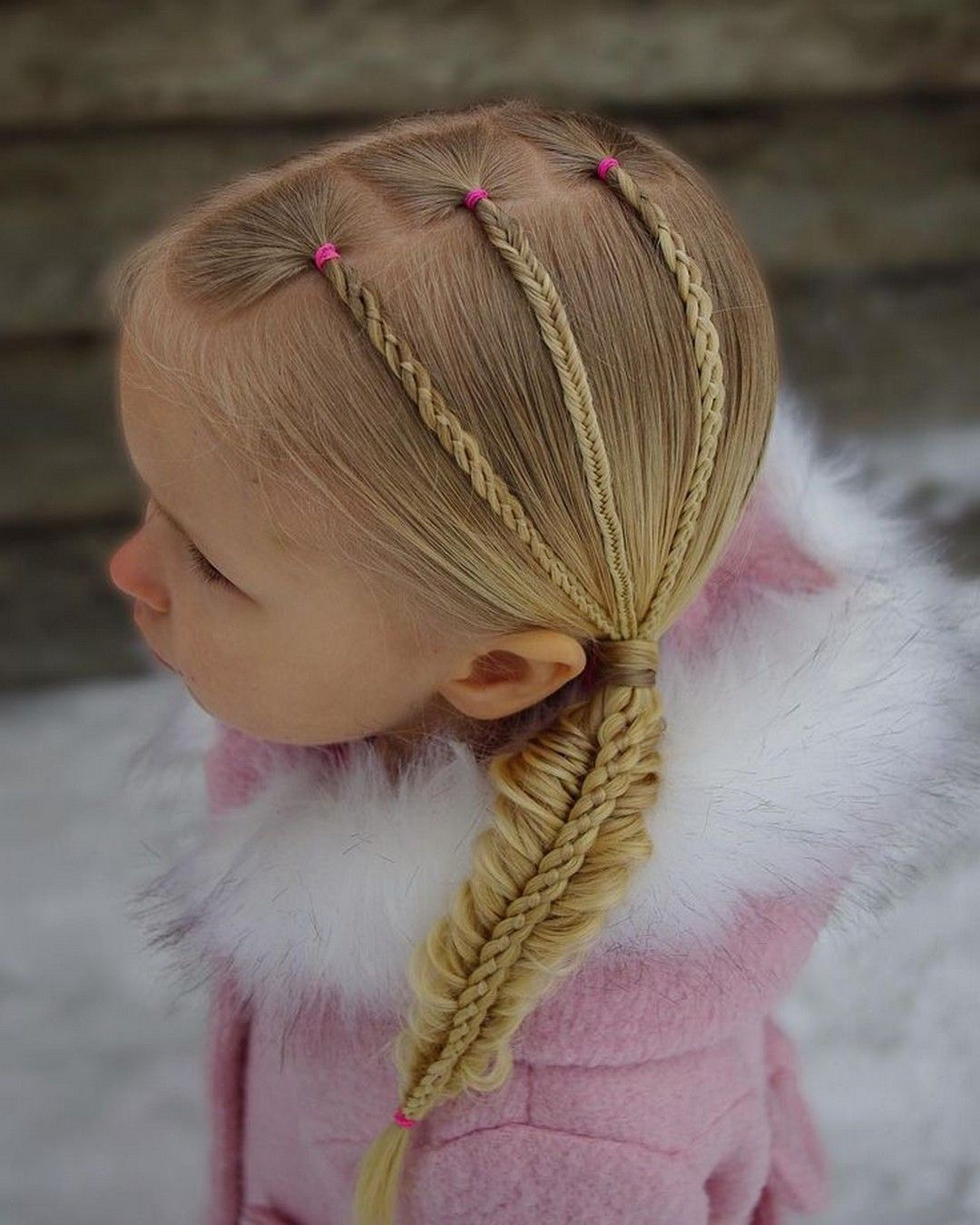 Winter Protective Natural Hairstyles for Kids - Femeline ...