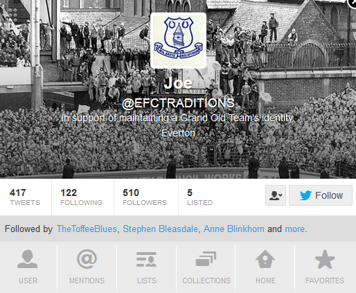 Follow @EFCTRADITIONS on Twitter
