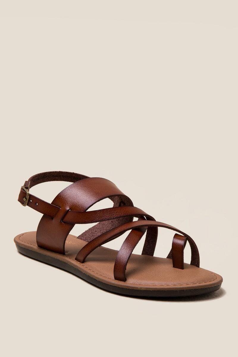 0bfc70f4b18 Selina Toe Ring Gladiator Sandal