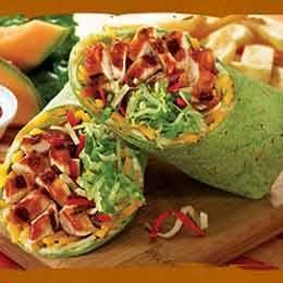 Bbq chicken wrap recipe