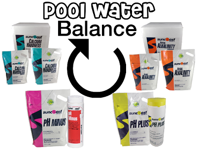 It is important to keep the pool chemicals in your water balanced, both for the health of your pool and for your family's health.