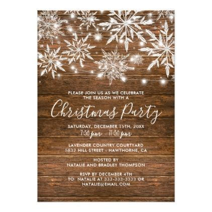 staff christmas party invites