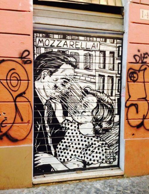 San Lorenzo/rome #LoveArt - http://wp.me/p6qjkV-6YH  #Art