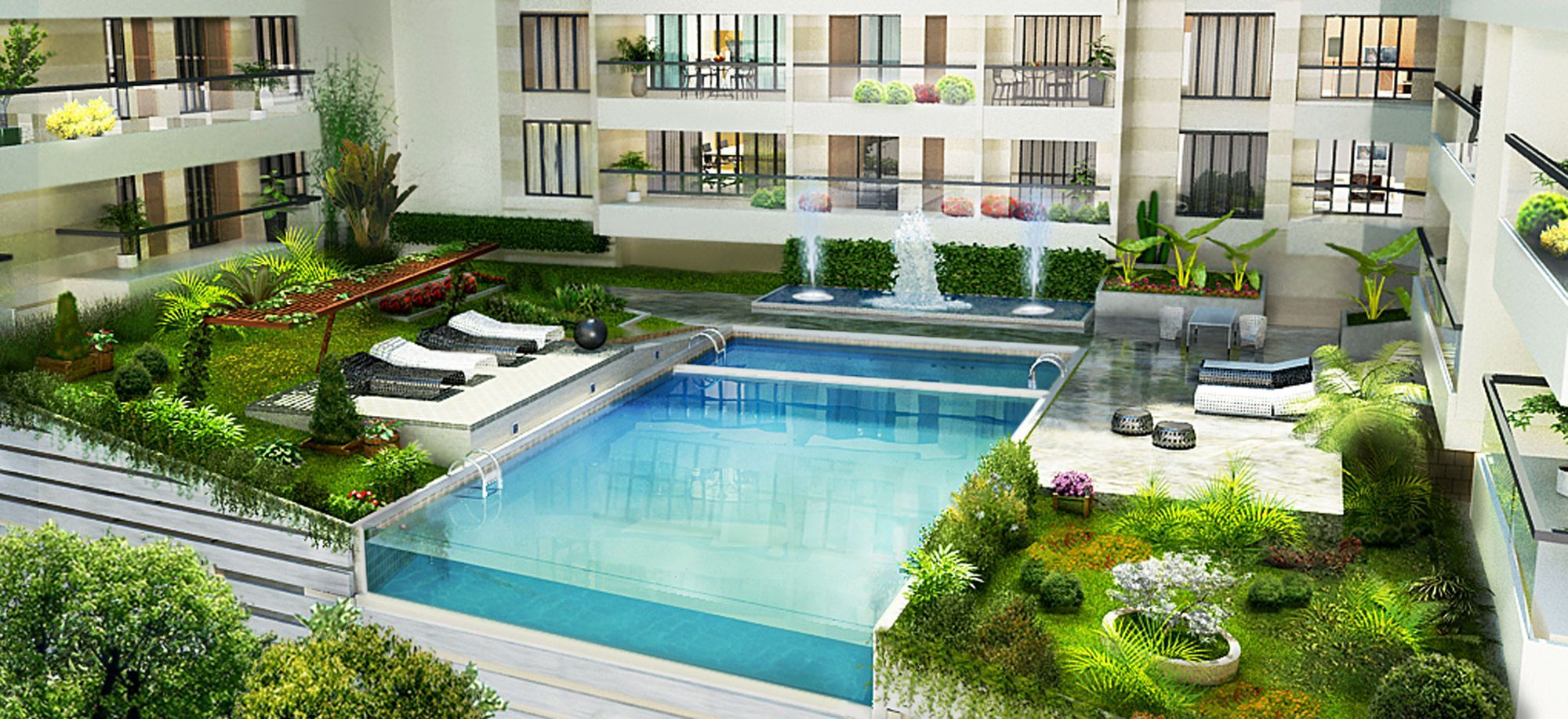 The Best 10 Pics Rooftop Pool And Garden And Review Garden Swimming Pool Garden Pool Design Pool Landscape Design