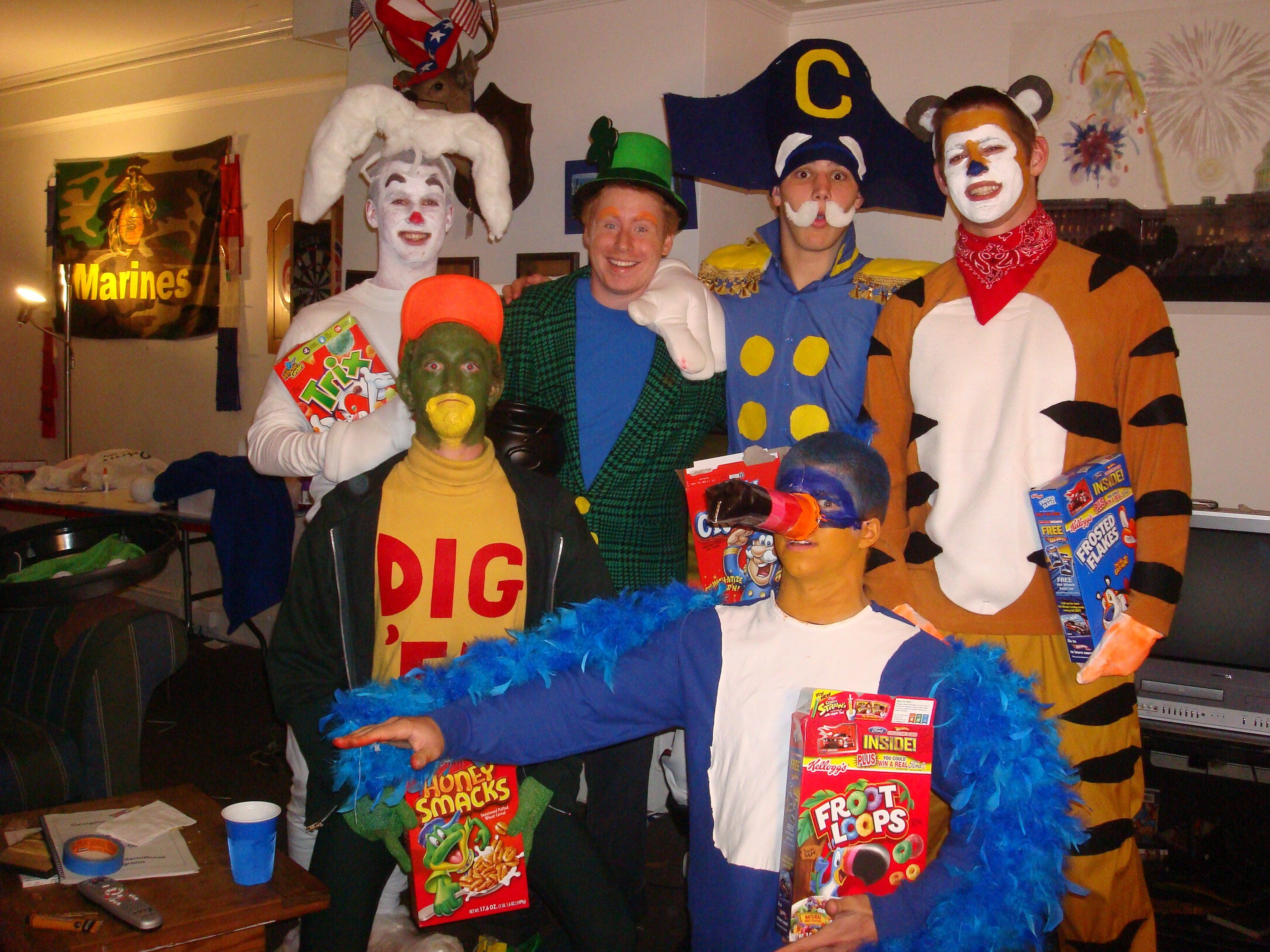 Cereal mascots halloween costumes for work character