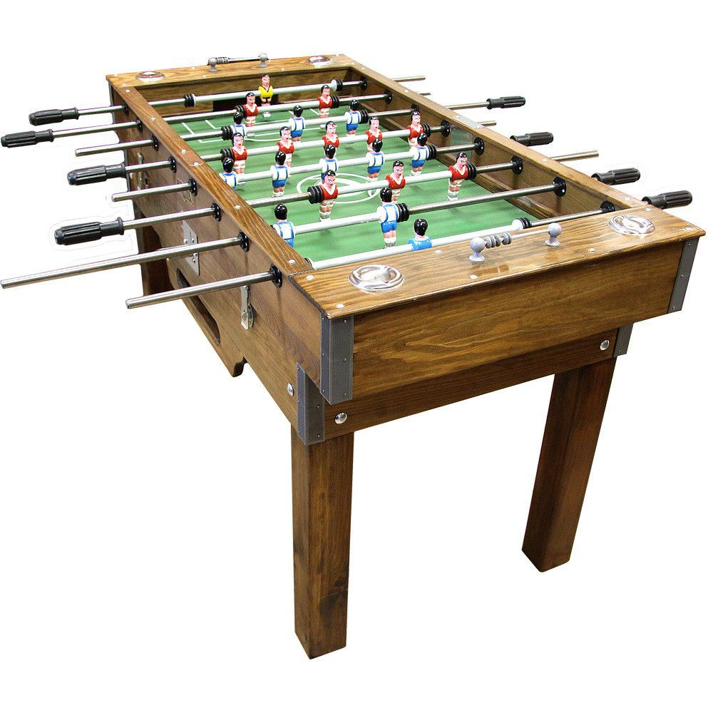 Portuguese Professional Commercial Wood Foosball Football Soccer Table Matraquilhos Soccer Table Foosball Table Foosball
