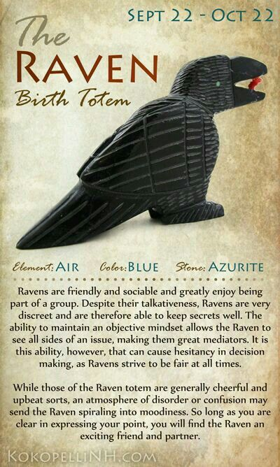 Birth Totem Sept 22 Oct 22 Animal Totems Animal Spirit