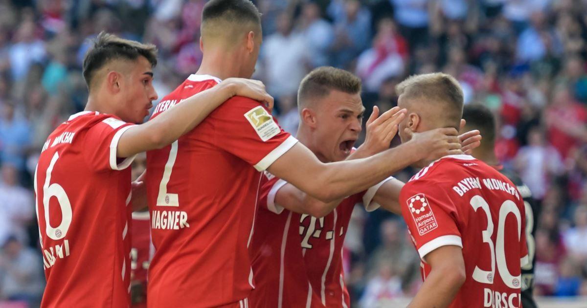 Bundesliga, Bayern Monaco vs Eintracht 41 Bayern monaco