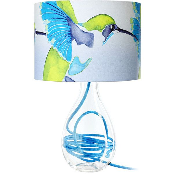 Anna Jacobs Sipping Nectar Lamp, Handmade Lampshades Norfolk