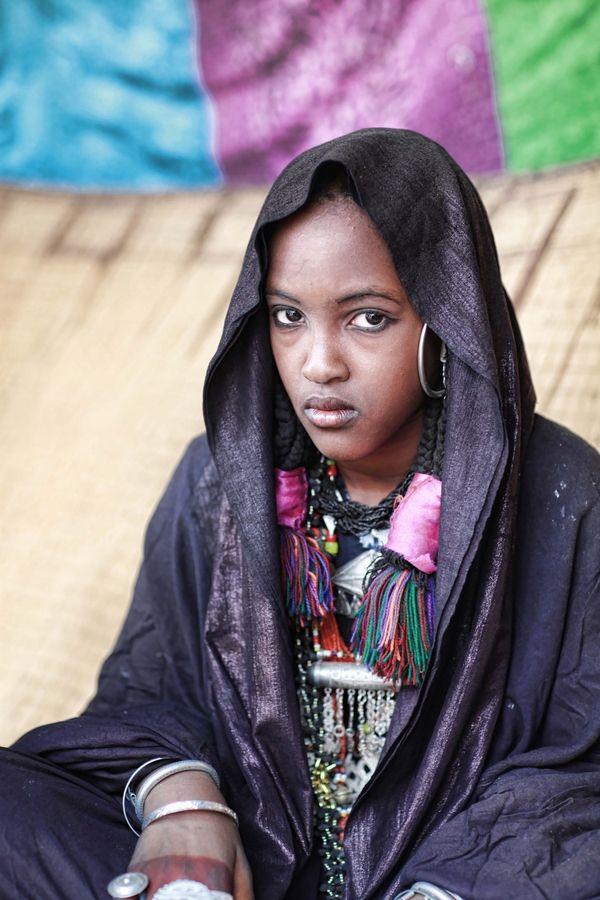 Africa | Libyan girl from Ghadames | © Mohammed Eshebani ... Libyan Women
