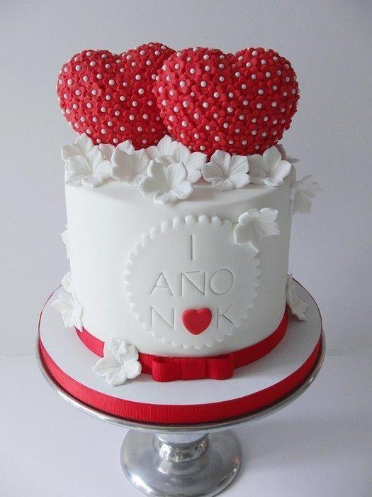 Cake First Wedding Anniversary