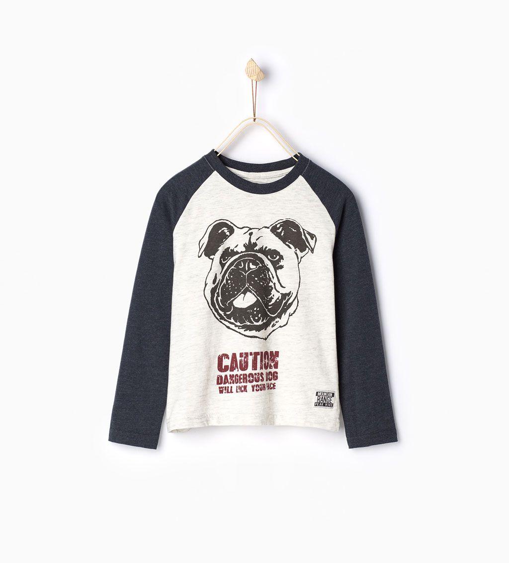 ZARA - NIÑOS - Camiseta perro