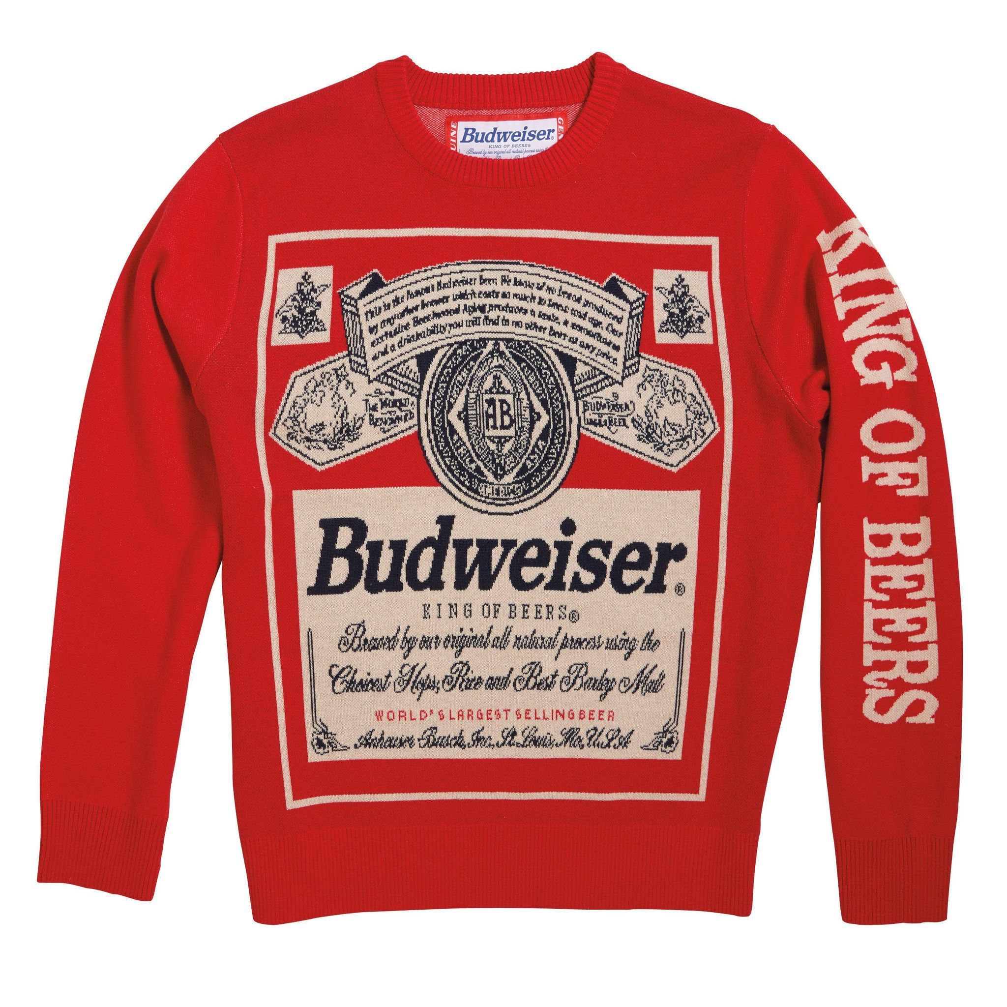 Budweiser 'Vintage Label' Sweater | dream wardrobe | Pinterest ...