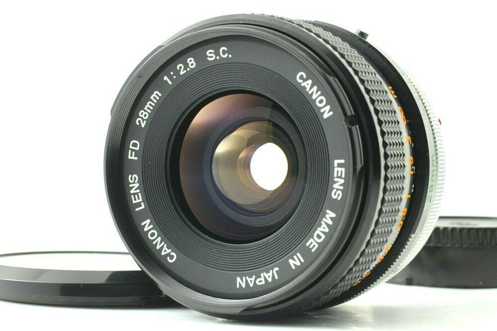 Near Mint Canon Fd 28mm F 2 8 Sc S C Wide Angle Lens For Fd Fl From Japan 032 Canon Wide Angle Lens Wide Angle Lens