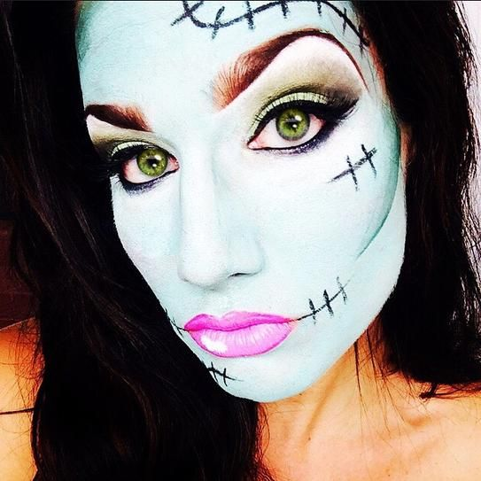 20 Seriously Cool (and Easy) Halloween Makeup Ideas Halloween - face makeup ideas for halloween