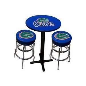 Florida Gators Table And Chairs Bar Height Pub Tables Stools