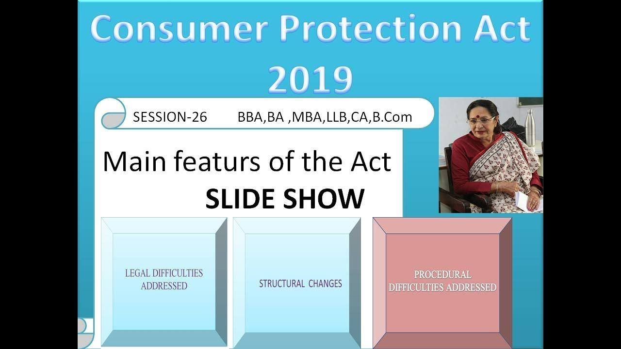 Slide Show Text Final Consumer Protection Acting Law Making