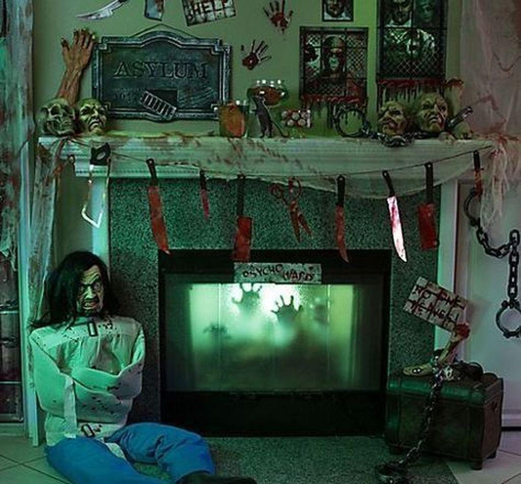 48 wunderbare DIY Halloween Wohnzimmer Deko Ideen ...