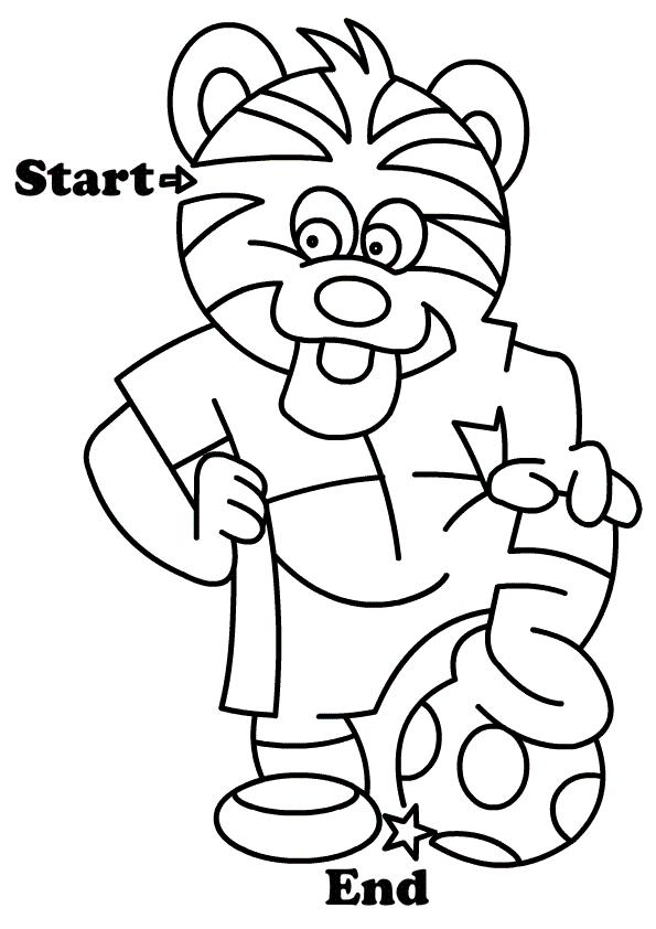 Maze Worksheets for Preschoolers | Maze worksheet, Mazes ...
