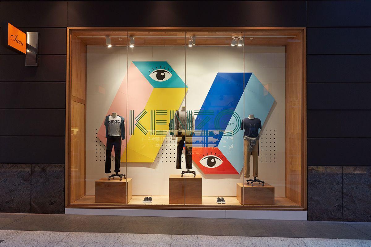 Kenzo Window for Incu City Men's Store