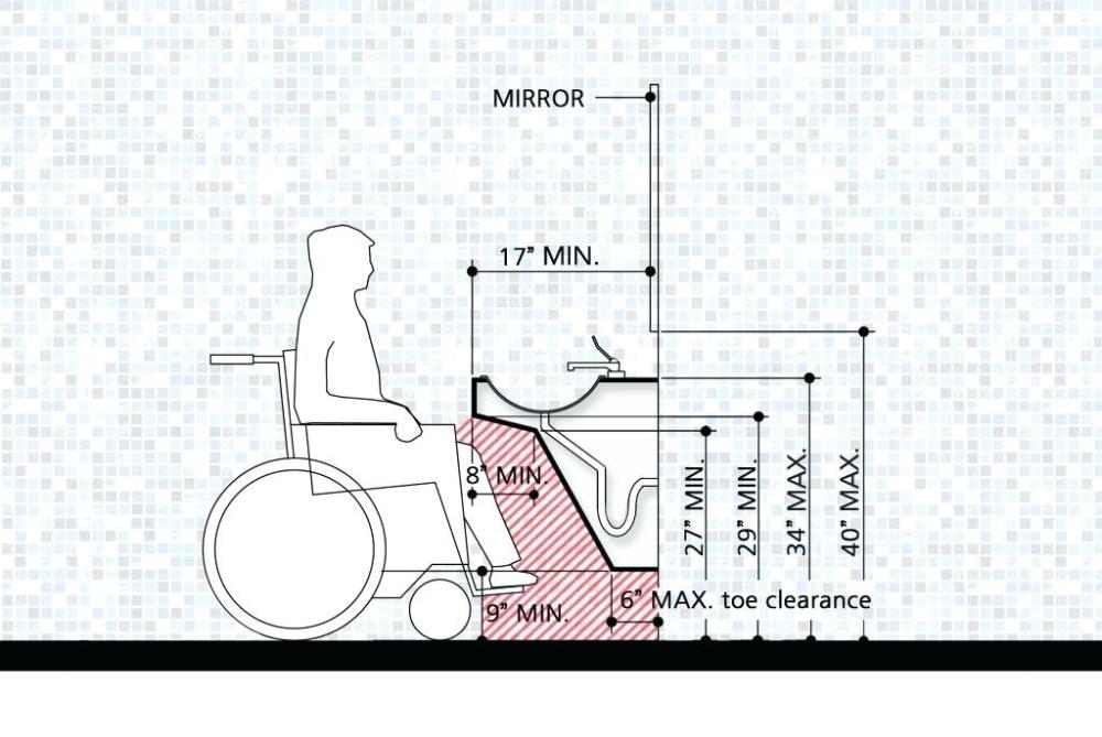 ada compliant bathroom layout ada compliant residential ...