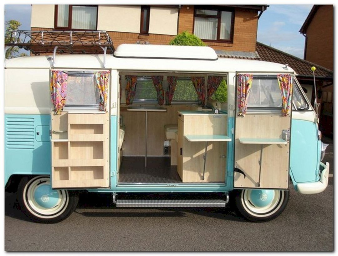 Inspiring 35 DIY Camper Van Ideas That You Could Make It Yourself For Summer Holiday 2018