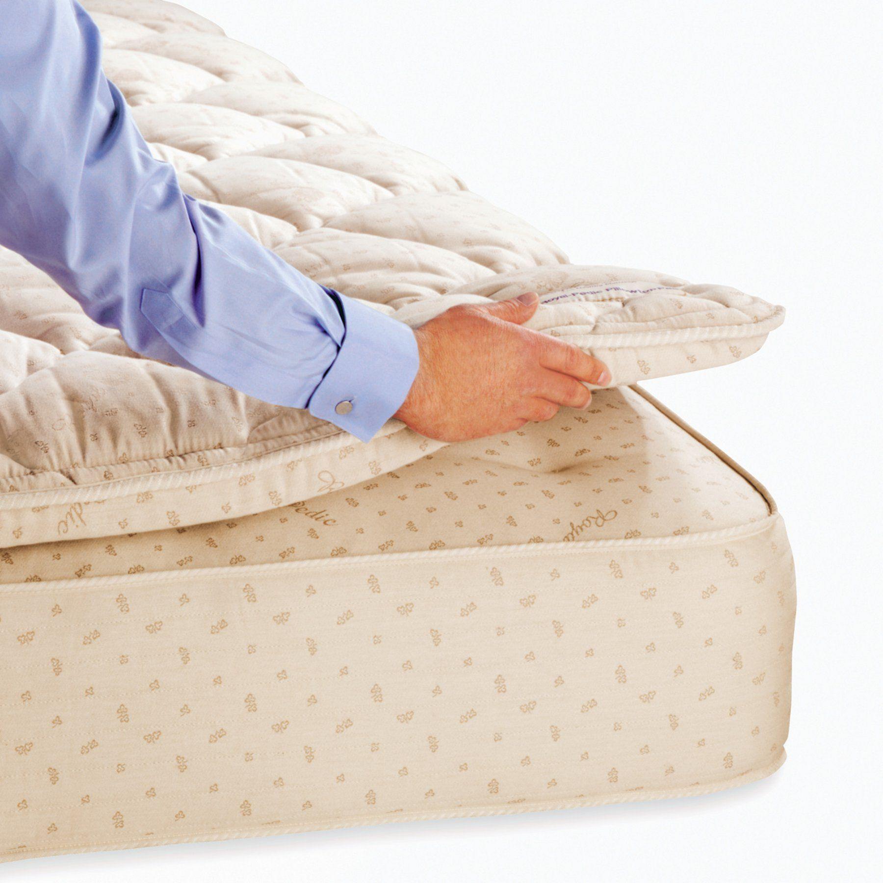 Royal Pedic 3 In Pillow Top Mattress Topper Twin Pillow Top Pad 3