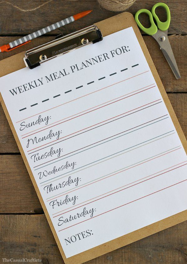 meal planner online free