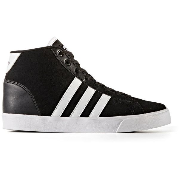best loved d9a84 99c58 ... promo code for adidas neo cloudfoam daily qt mid womens shoes 70 liked  on polyvore featuring