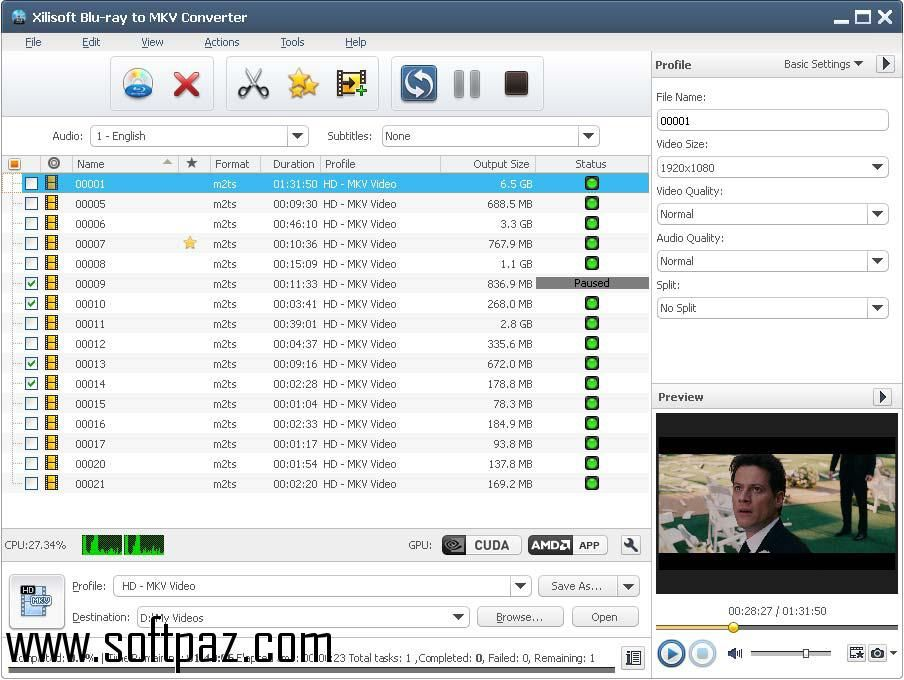 Getting Xilisoft Blu-ray to MKV Converter setup was never this easy ... Software