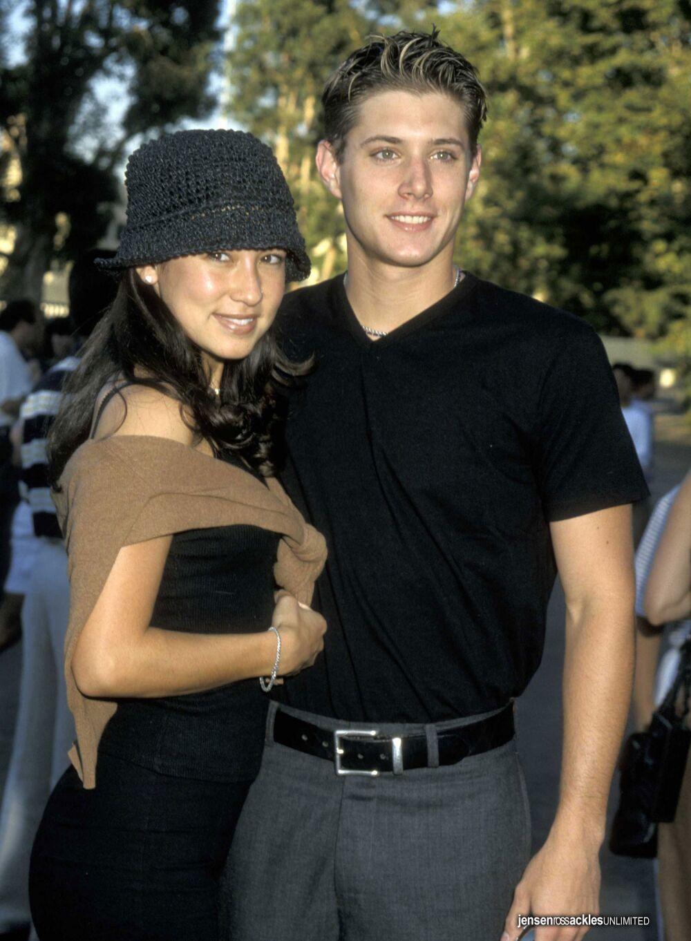 Jensen and his girlfri...