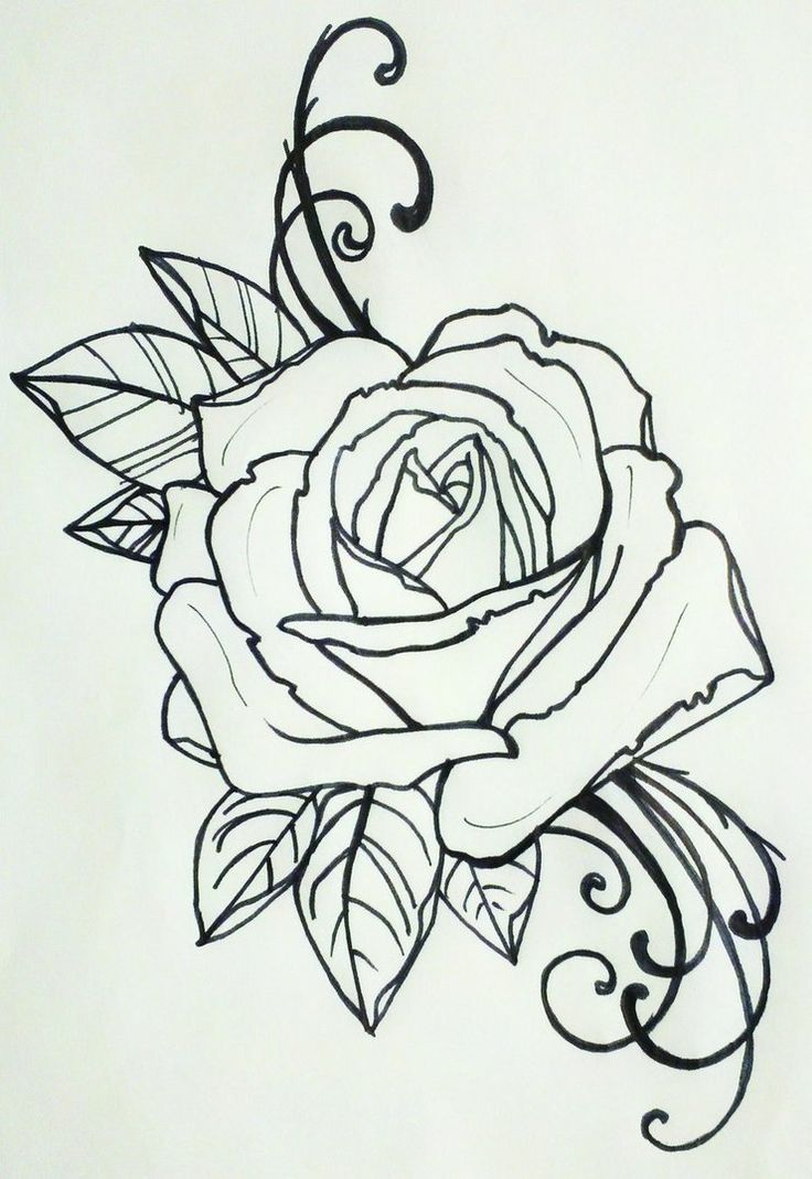 Love Tattoo Outlines