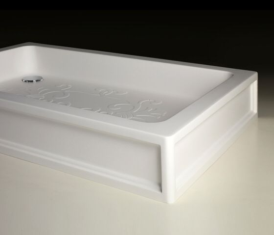 Arabesque Shower Tray Shallow Tub Bathtub Shower