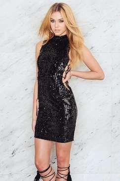 NA-KD Detailed Polo Sequins Dress Found on my new favorite app Dote  Shopping  DoteApp  Shopping d9d454892
