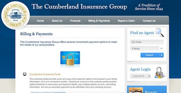 Cumberland Insurance Bill Pay Group Insurance Customer Service