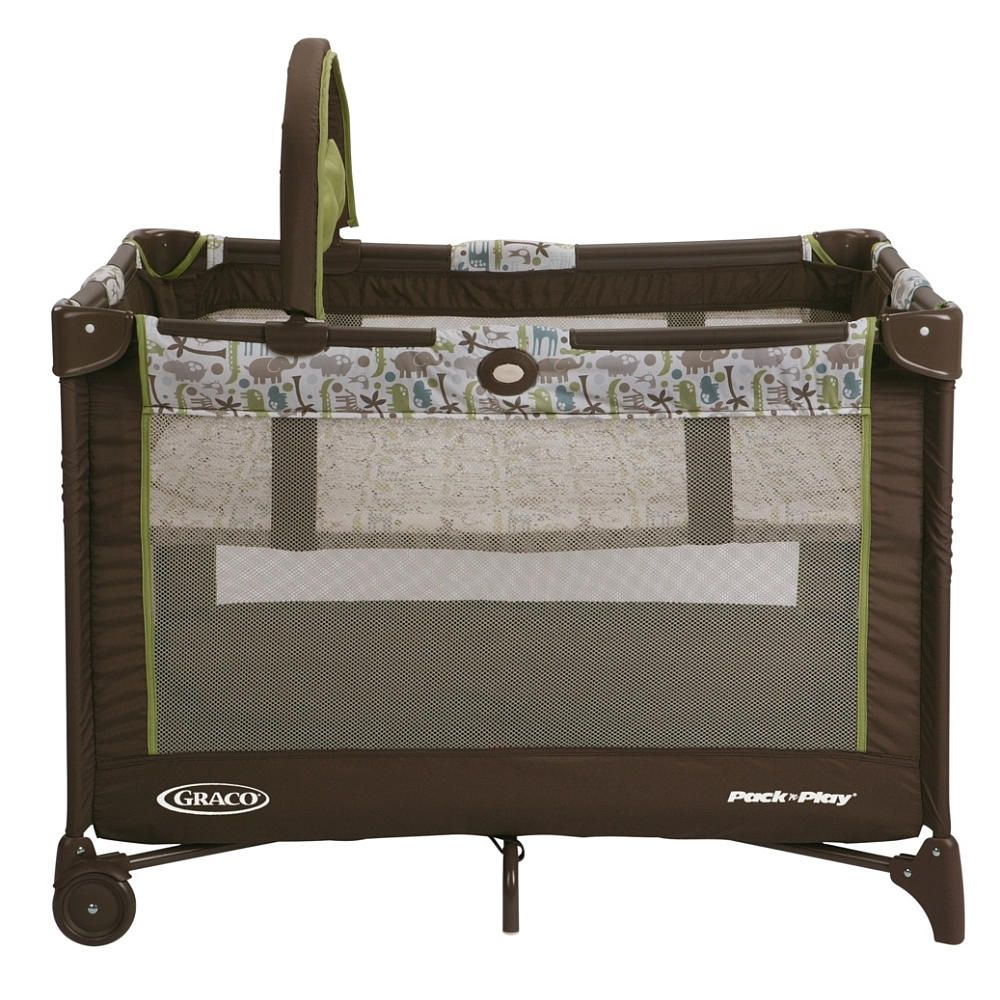 Graco Pack N Play On The Go Travel Play Yard Zoofari Graco Pack N Play Pack N Play Play Yard