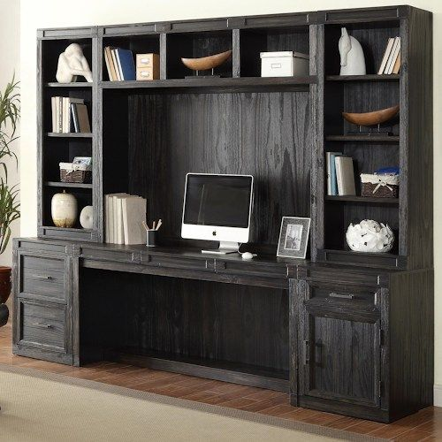 Shop For The Parker House Hudson 6 Piece Desk And Hutch Set At Godby Home  Furnishings   Your Noblesville, Carmel, Avon, Indianapolis, Indiana  Furniture ...