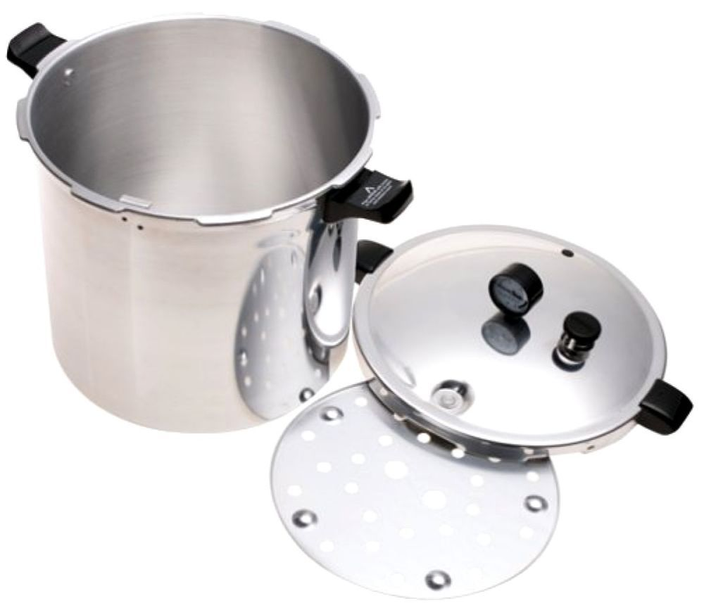 Pressure Canner And Cooker Extra Large Presto 01781 23 Quart New