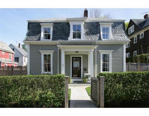 Best Quaint C1850 Mansard Victorian Mansard Roof Porch Roof 400 x 300