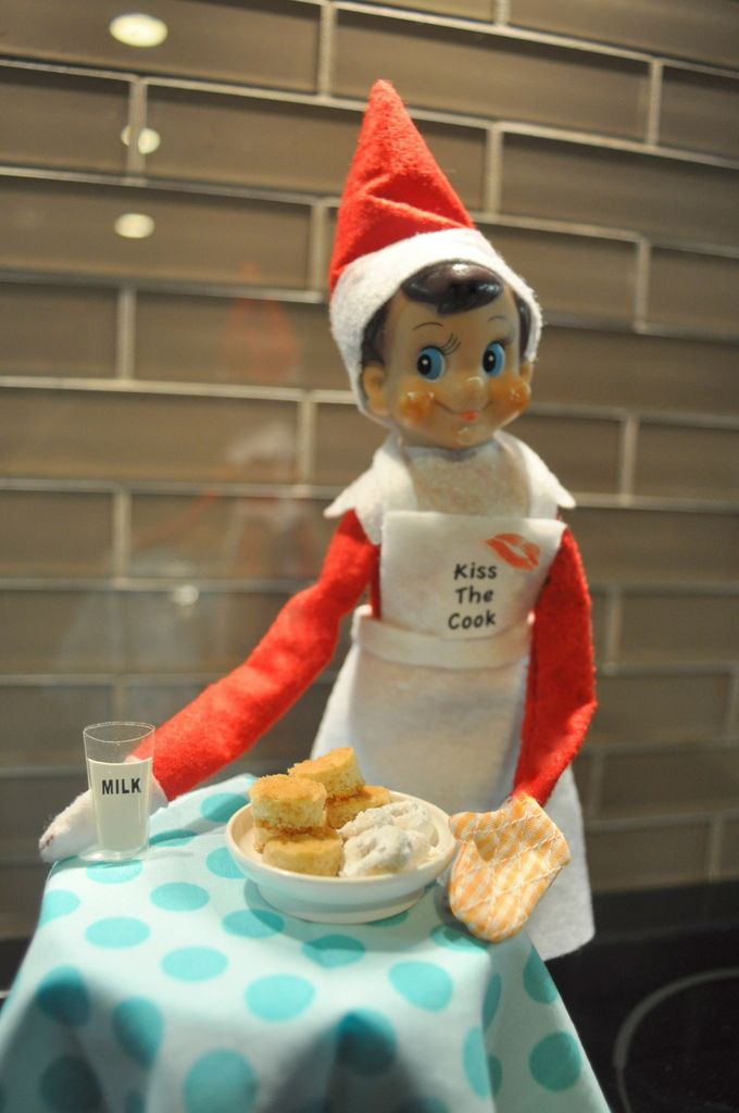 Elf On The Shelf Baking Holiday Traditions Kids Elf Magic Elf