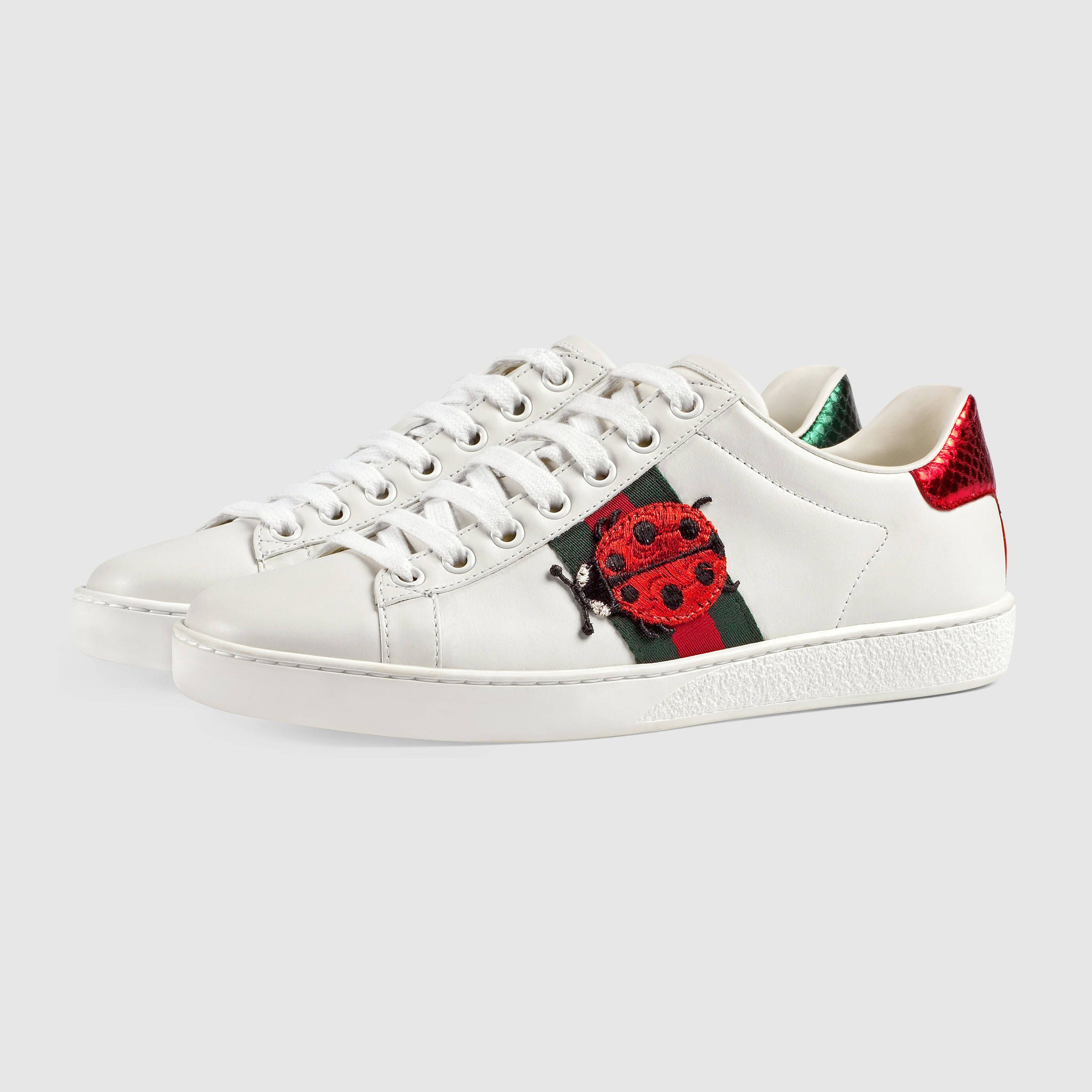 408358ece59 Gucci Women - Ace embroidered low-top sneaker - 431920A38G09064