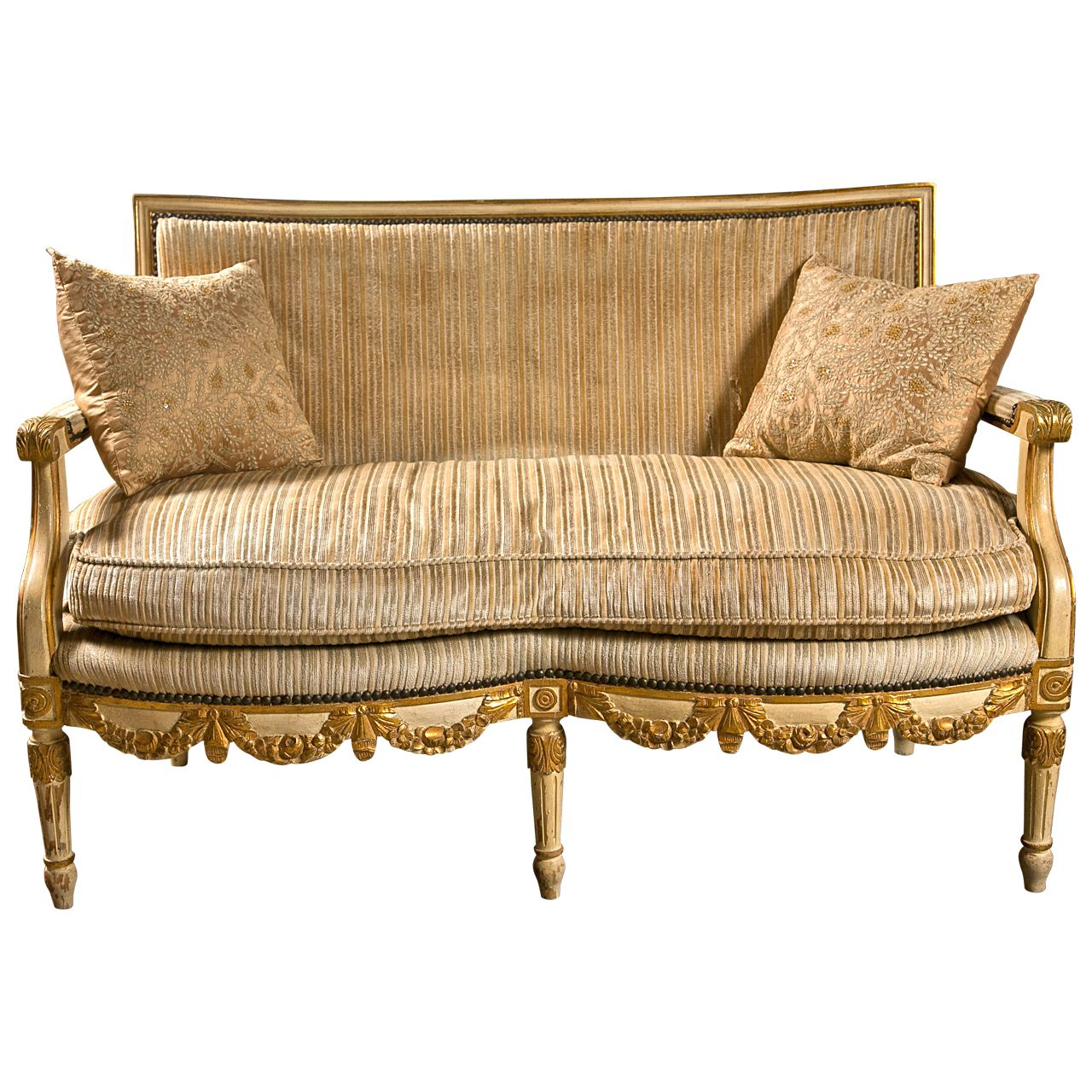 French louis xiv style canape sofa settee muebles for Muebles de epoca